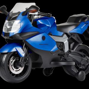 Ηλεκτρική παιδική μηχανή mini moto BMW μπλε