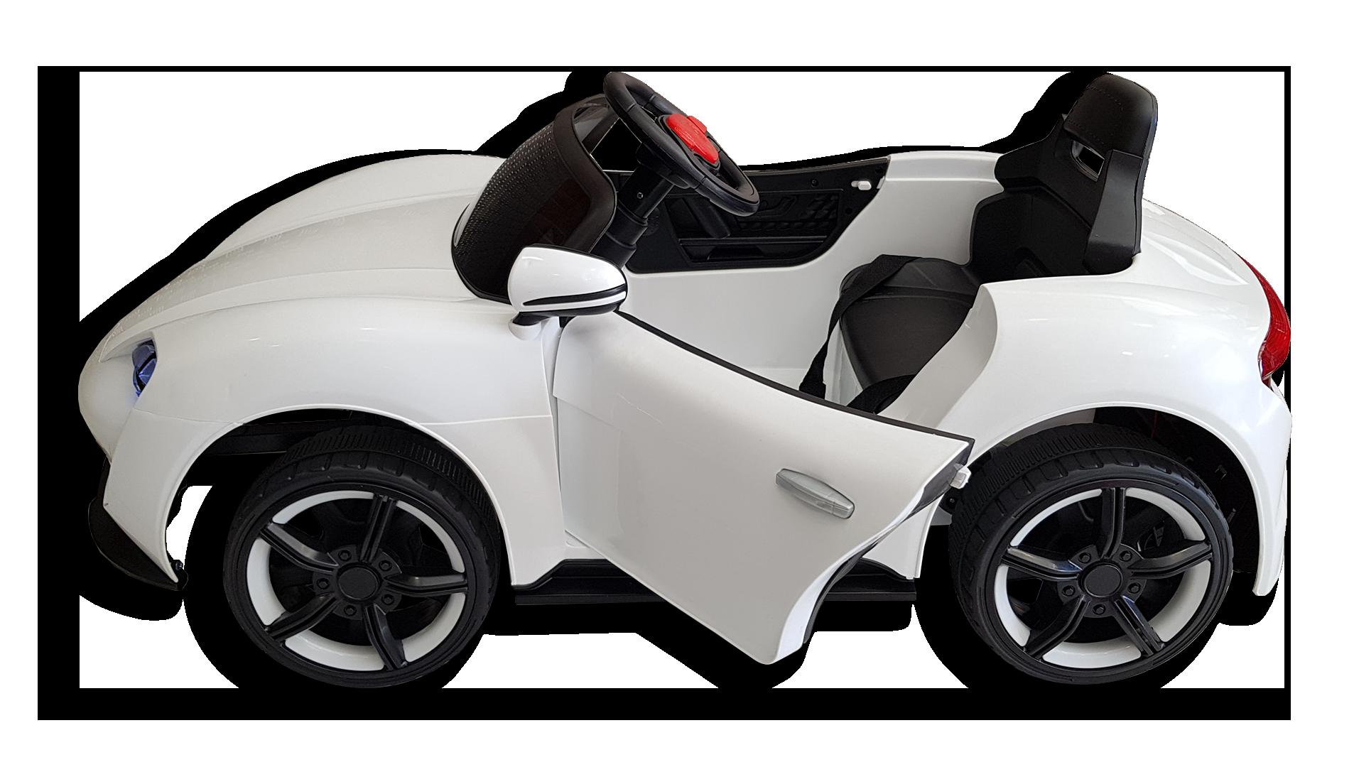 Πλαϊνό μέρος παιδικού ηλεκτρικού αυτοκινήτου mini moto Porsche