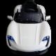 Μπροστινό μέρος παιδικού ηλεκτρικού αυτοκινήτου mini moto Porsche