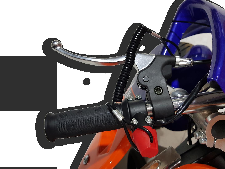 Παιδική βενζινοκίνητη μηχανή supersport 50cc
