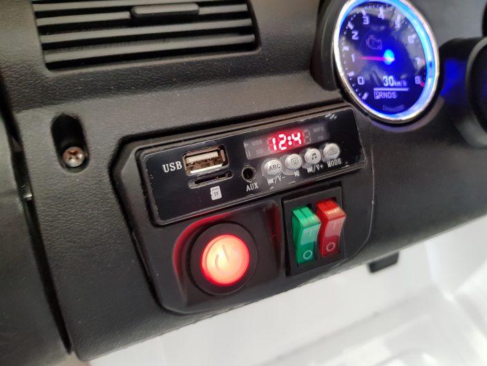 Ρυθμιζόμενες αναρτήσεις φώτα mp3 ηχεία μουσική ράδιο card sd reader mini moto
