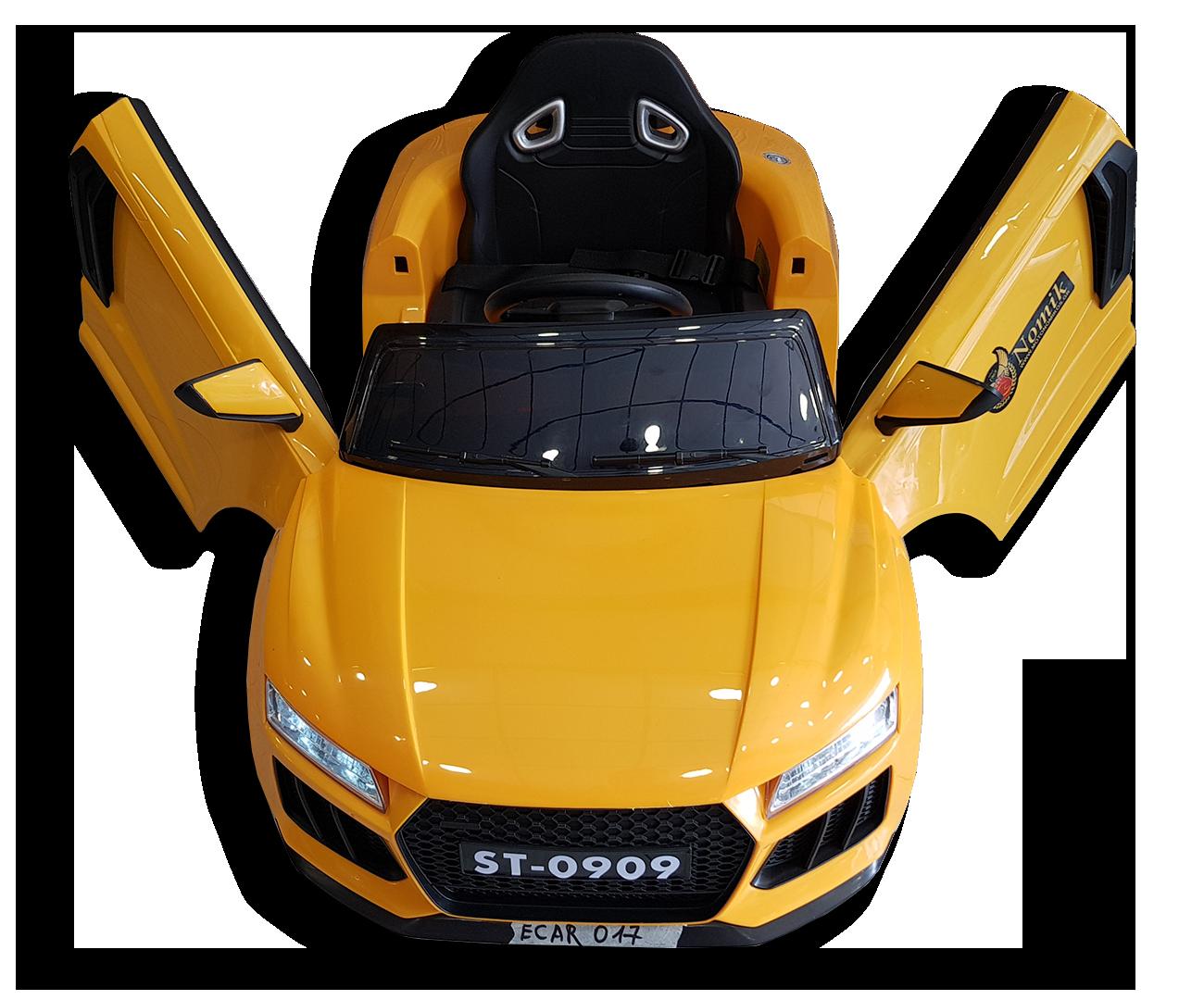 Κίτρινο παιδικό ηλεκτρικό Audi