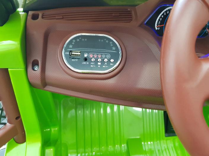 MP3, Card reader για ηλεκτρικό αμάξι 4x4